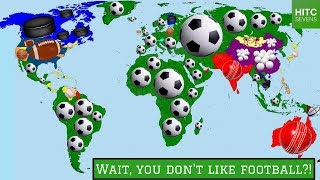 7 Countries Where Football Isn't the Most Popular Sport