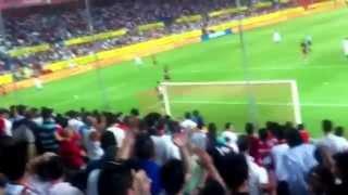 Biris norte Sevilla atlético de Madrid