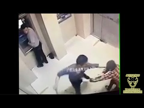 ATM Mugging Turns Ugly in a Hurry (Not for the Faint of Heart) | Active Self Protection