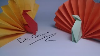 |DIY | Origami  turkey (model 2) -easy tutorial