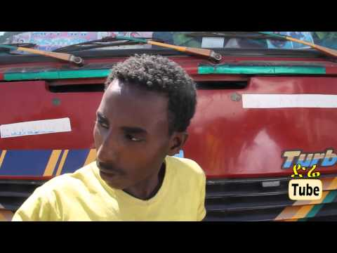 DireTube News - Container truck plowed into Addis Ababa Railway  protective barriers around Gotera