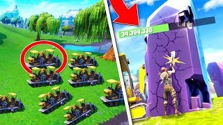EXCAVATION DE CUBE STONES IN BALSA BYME ON FORTNITE!!