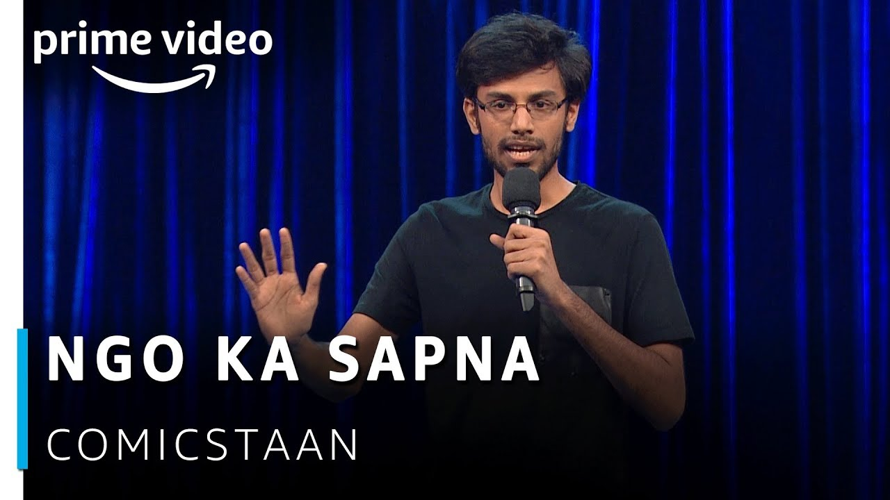 NGO Ka Sapna - Biswa Kalyan Rath Stand-up Comedy  | Amazon Prime Video