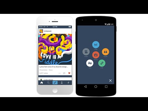 Tumblr iPhone App Review and Demo