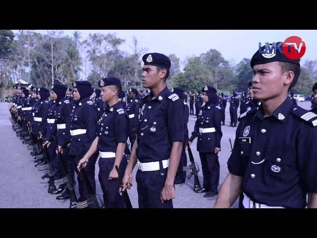 20 Pelatih Kor SUKSIS UMK Dipilih Jalani Latihan Kadet Inspektor PDRM[HD]