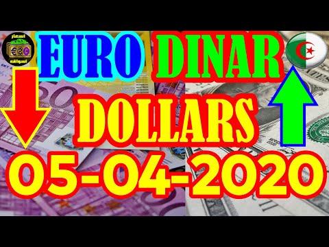 سعر اليورو الدولار 05-40-2020 change euro