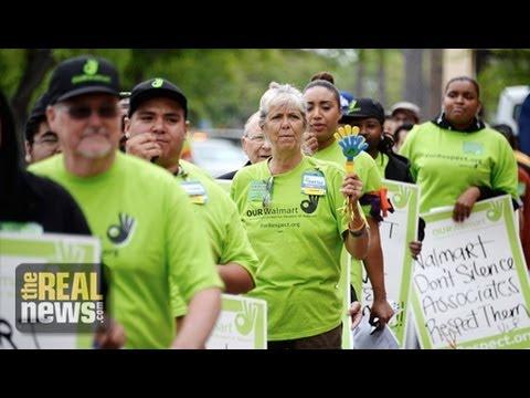 As Walmart Workers Strike In 15 Cities, Will Raising Min. Wage Hurt Employers?