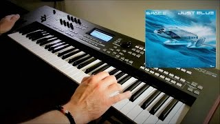 Space - Just Blue - Live Remix on Yamaha moXF6 by Piotr Zylbert (HD)