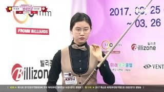 [당구-Billiard] Seong-Yeon Joo v Mi-Rae Lee_15th Korea Women