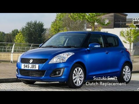 How to Replace the Clutch on 2010 Suzuki Swift 1.5  R4UL TV