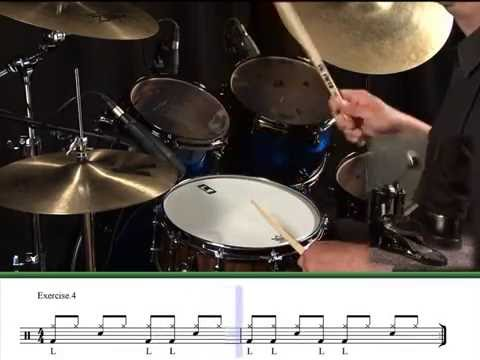 Learning Drums Lesson  - Alternative Bass Drum Techniques
