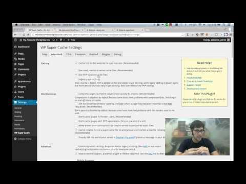 WordPress Speed Optimization With WP Super Cache
