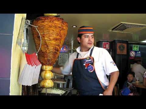 Tacos al Pastor en Mexico