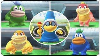Mario Sports Superstars (3DS) - All Bosses