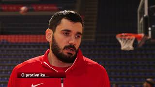 Marko Jagodić - Kuridža Pred Meč ASVEL - Crvena Zvezda | SPORT KLUB Košarka