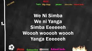 Rostam Ft Mr. Blue - Watani Wa Jadi ( Lyrics Video ) ⚽