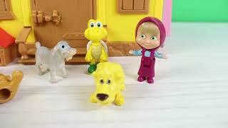 Masha Oyuncak Hayvanlarına Neler Öğretti? Eğitici Videolar