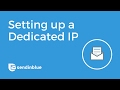 Setting up a Dedicated IP