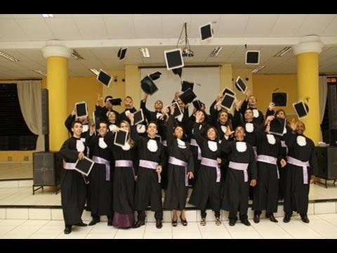 Formatura do Curso de Teologia /2012 da CMB