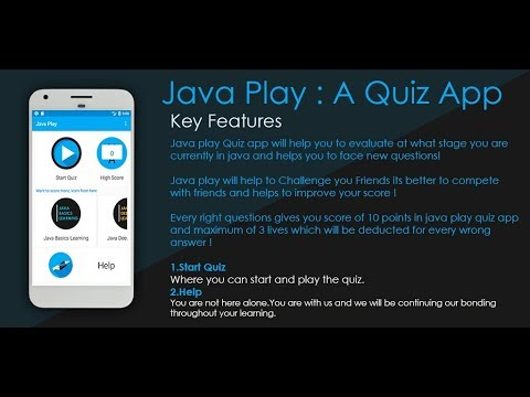 Java Play: Java quiz app from Awwalsoft - Apps on Google Play