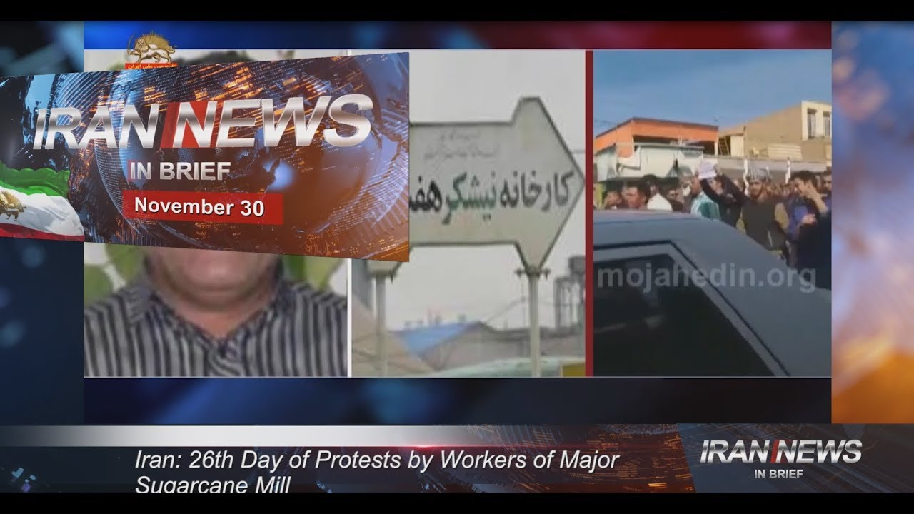 Iran news in brief, November 30, 2018