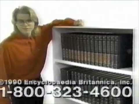 Encyclopedia Britannica commercial - 1990