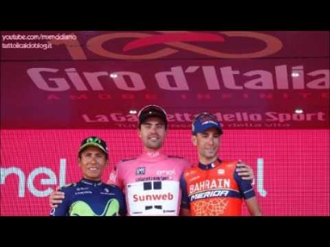Giro d'Italia 2017 alla Radio - 21° Tappa (Cronometro MONZA - MILANO) TOM DUMOULIN MAGLIA ROSA!