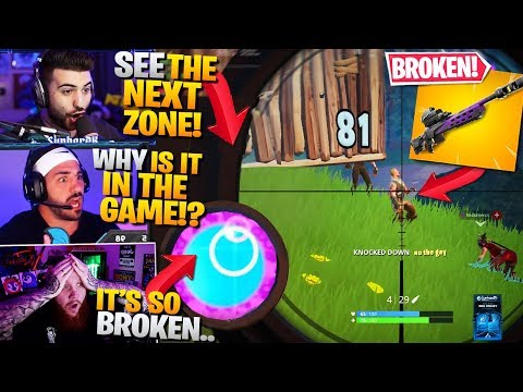 *NEW* Storm Scout Sniper Is GAME-CHANGING!  Ft. Nickmercs, Timthetatman (Fortnite Battle Royale)