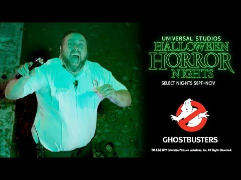 Universal's Halloween Horror Nights is calling in the Ghostbusters