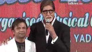 Amitabh Bachchan Graces Music Launch Of Rajpal Yadav's 'Ata Pata Laapata'