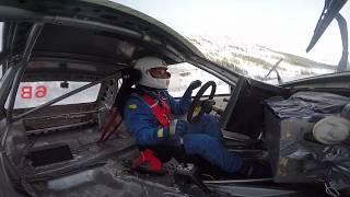 Lancia Delta HF IMPRESSIONANTE SOUND CameraCar - INSANE ONBOARD Rally - Ice Challenge - Livigno 2018