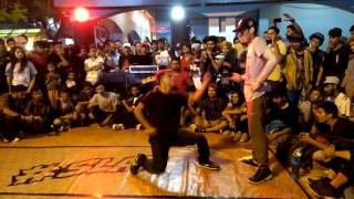 B-Boy 3D vs B-Boy Demon(KHHC) | Slap-Street Fight 9th of june  2017