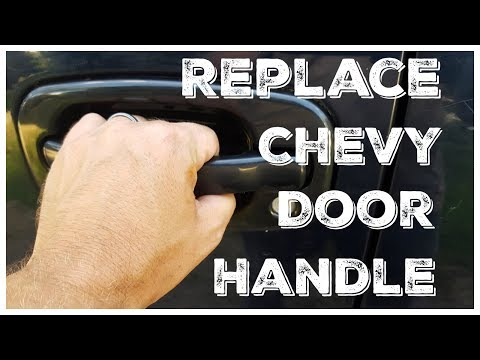 How to Replace An Exterior Door Handle – Chevy Avalanche, Chevy/GMC Trucks 1999-2006