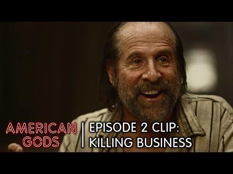 Killing Business | American Gods Episode 2 Clip