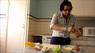 How to make Tostadas - Mexican Food Made Easy