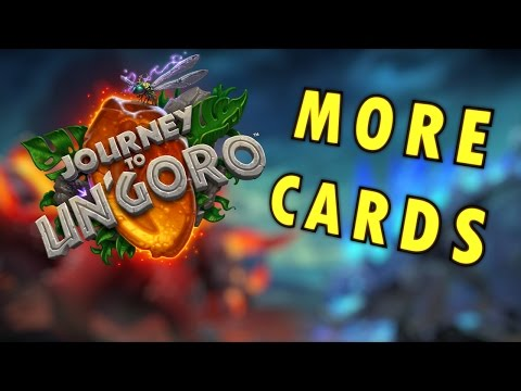 Hearthstone - Journey to Un'Goro New Card Reveals Summary
