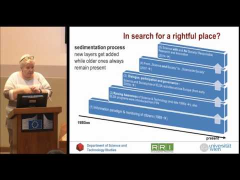 Ulrike Felt - Academic Citizenship: What is a rightful place for society in science?
