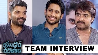 Telugutimes.net Yuddham Sharanam Movie Team Interview