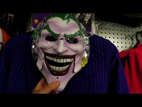 Joker purple suit and The Riddler Halloween costumes or cosplay- Spirit Halloween