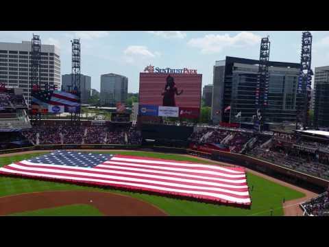 Angelica Hale -  Braves Game Opening April 2017 SunTrust Park