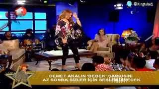 Demet Akalın - Giderli Şarkılar (Yıldız Tilbe Show - 28 Mayıs 2013)
