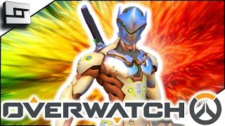 THE DRAGON BECOMES ME! - Overwatch Genji Gameplay