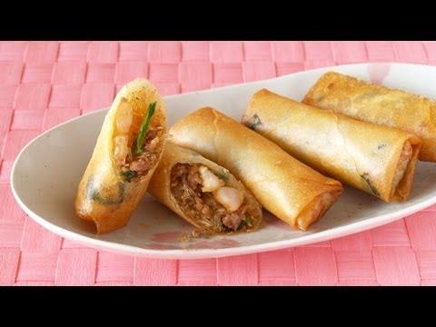 How to Make Harumaki (Japanese Egg Rolls Recipe) | OCHIKERON | Create Eat Happy :)
