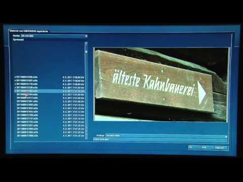 Casablanca SL-1000 AVCHD -Videoschnittsystem