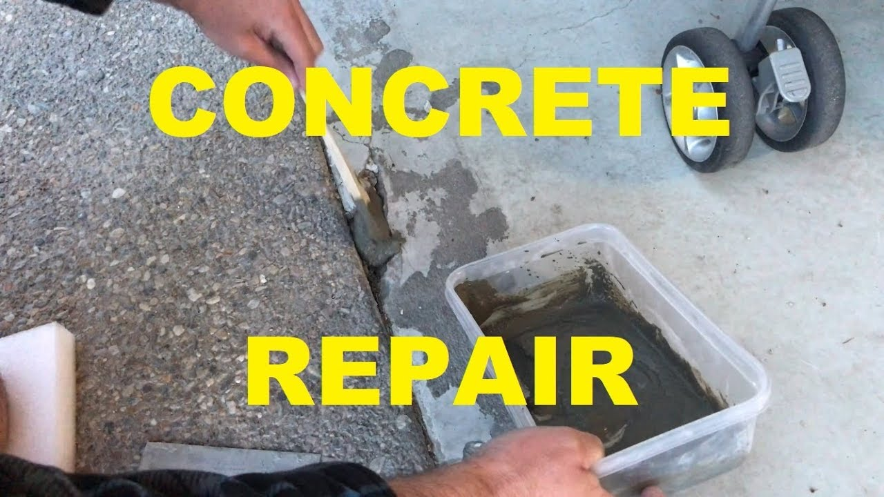 Diy Concrete Repair How To Patch Damaged Ing Crumbling Pads And Sidewalks