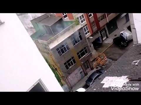 Incendio en una vivienda de la calle río Neira, en Lugo