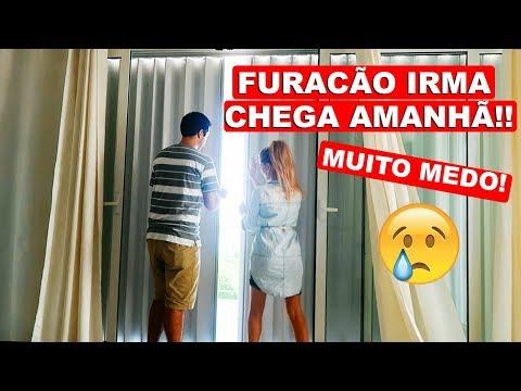 O FURACÃO IRMA CHEGA AQUI AMANHÃ!! | MUITO MEDO 😓 | Lorrayne Mavromatis