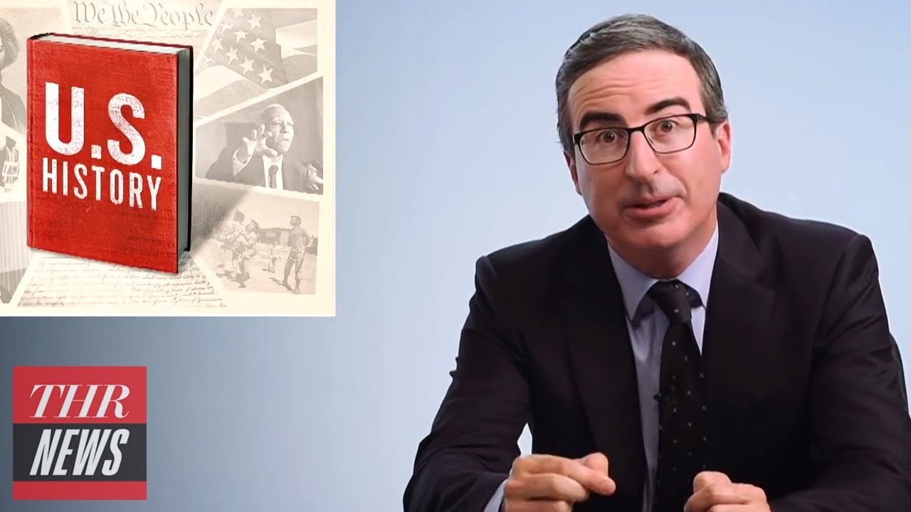 John Oliver Weighs in on Lack of Historical Knowledge in U.S. | THR News