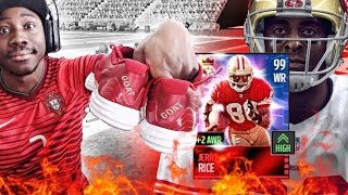UNLOCKED 99 JERRY RICE & 99 DEVIN HESTER! Madden NFL 16 Mobile Gameplay
