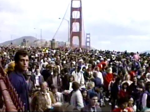 Golden Gate Bridge - 50th Fiasco Firsthand (1987)